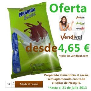 Oferta Cacao Nesquik lacte