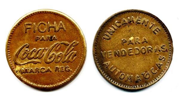 monedas antiguas cocalcola