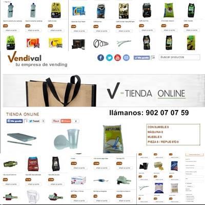 Los mejores precios en consumibles y repuestos para máquinas de vending en Valencia