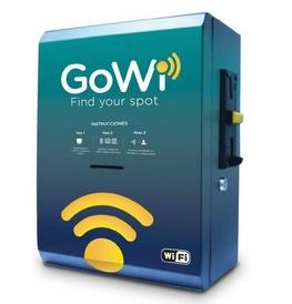 Gowi maquinas expendedoras de wifi