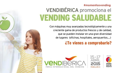 Vendiberica 2015 por un vending más saludable