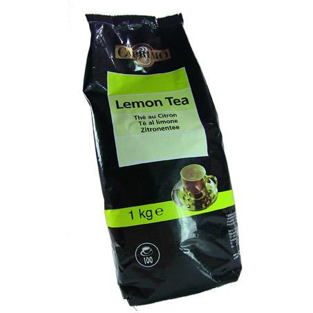 té al limón para hidratarse este verano