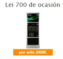 ocasión maquinas vending lei700