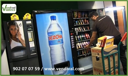 Servicio vending en Valencia