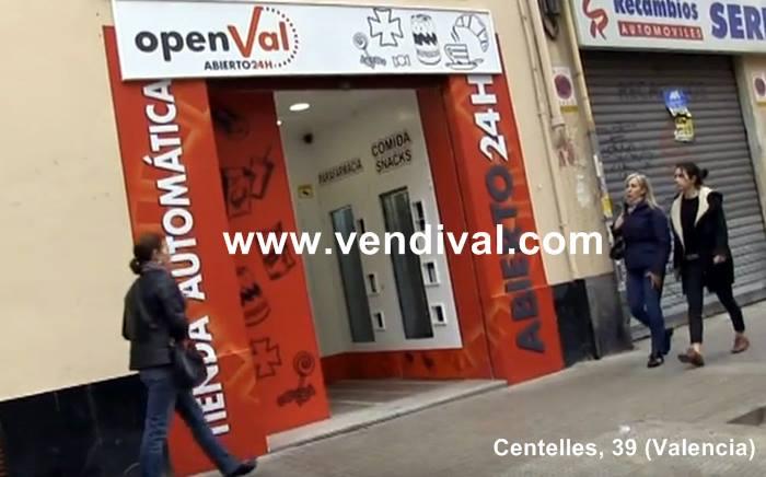nueva tienda24 horas en calle centelles de valencia