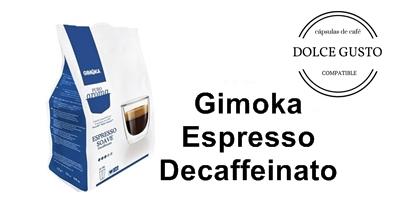 gimoka espresso decaffeinato capsulas cafe