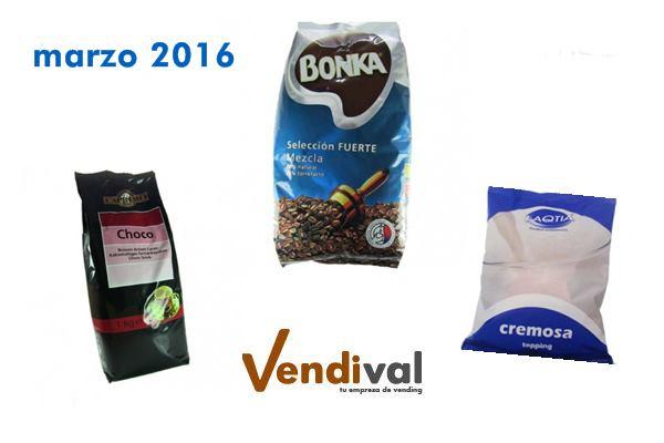 consumibles vending mas vendidos en marzo 2016
