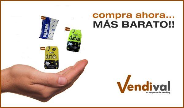 ofertas consumibles vending