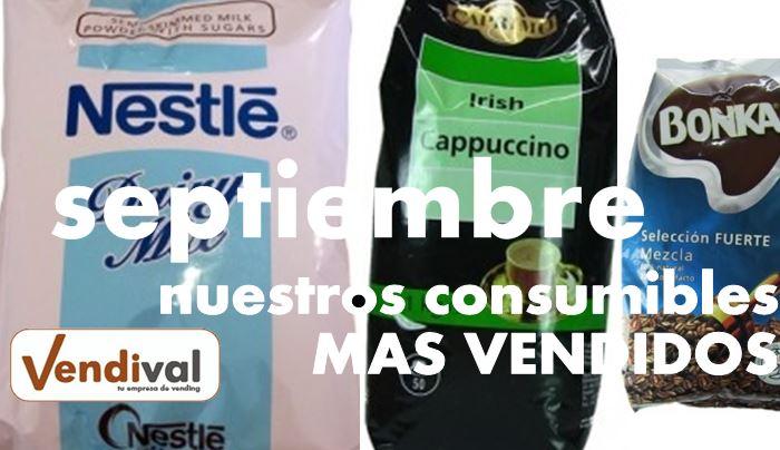 productos vending mas vendidos en septiembre