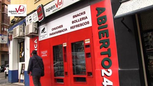 openval tiendas vending 24 horas en Valencia