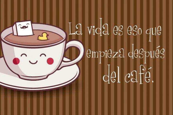 el cafe es vida