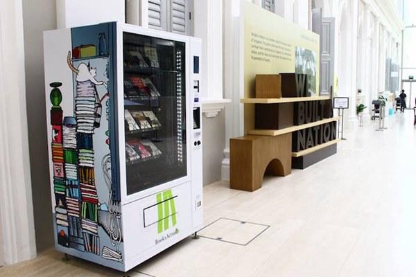 maquinas expendedoras de libros