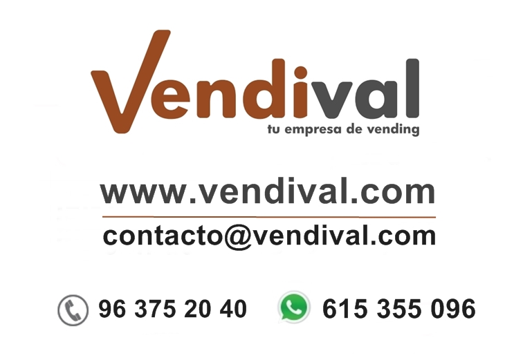 contacta con vendival tu empresa de vending