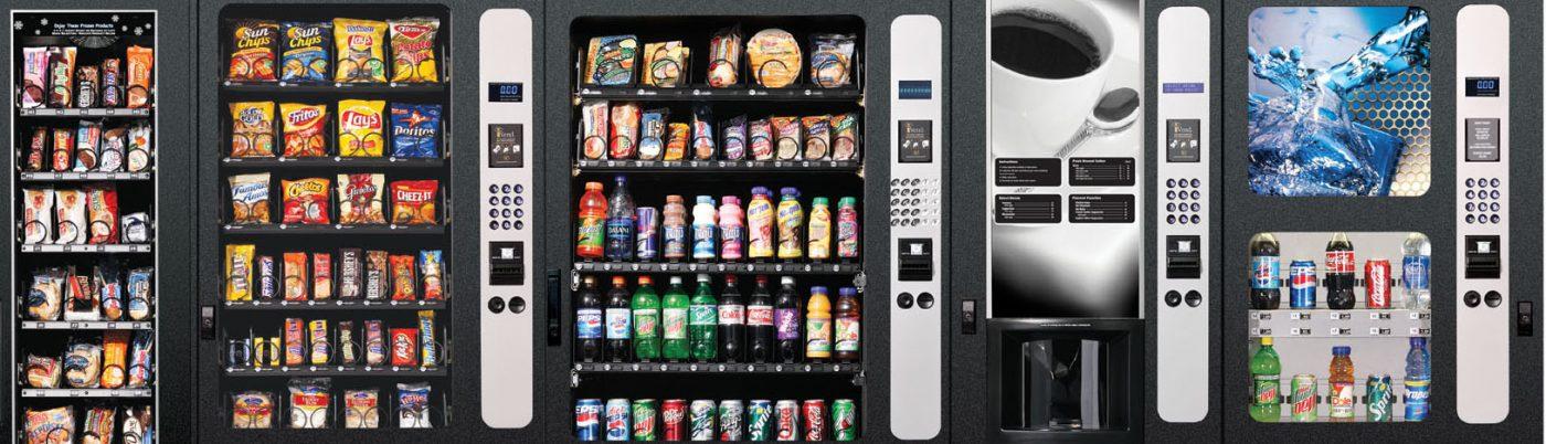 foto de máquinas de vending