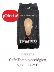 cafes templo oferta