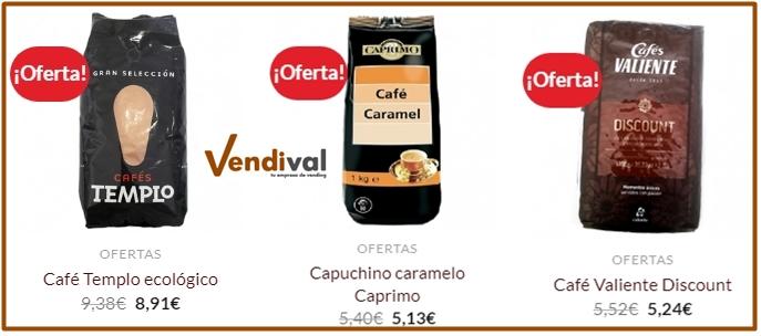 ofertas cafe vending