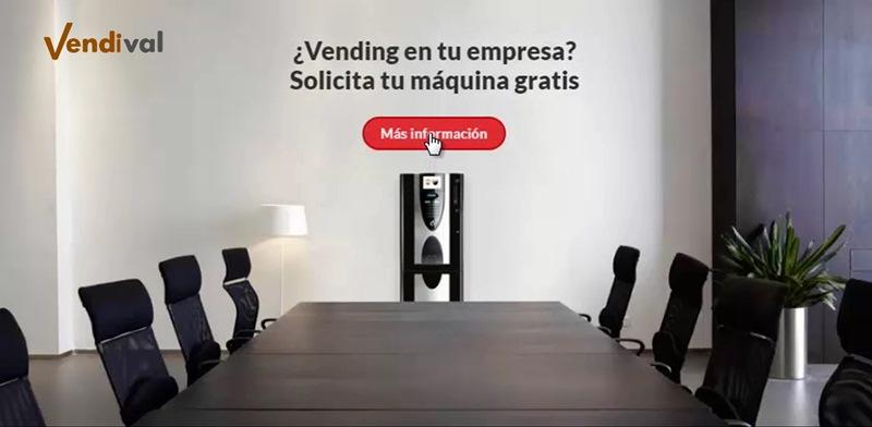 servicio de vending gratuito para empresas en Valencia
