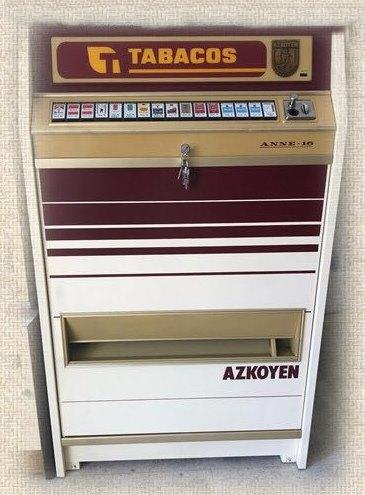 maquinas expendedoras de tabaco antiguas