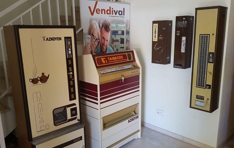 maquinas expendedoras retro en alquiler o venta