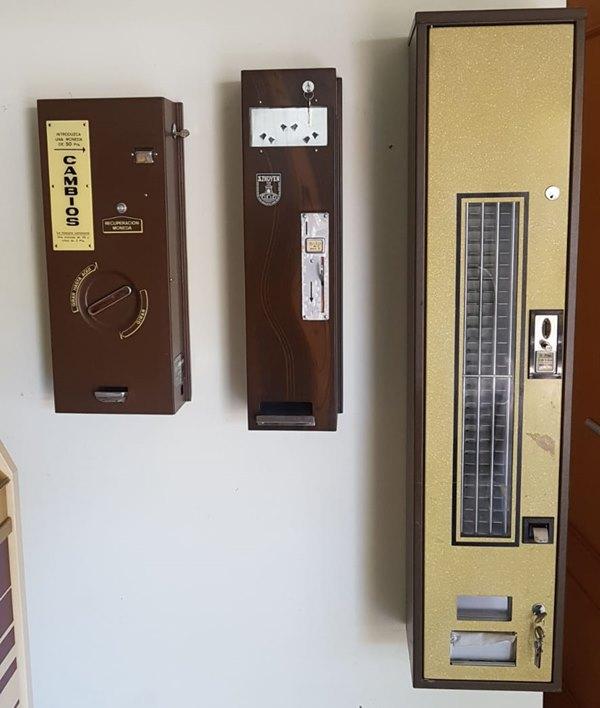 maquinas expendedoras antiguas alquiler
