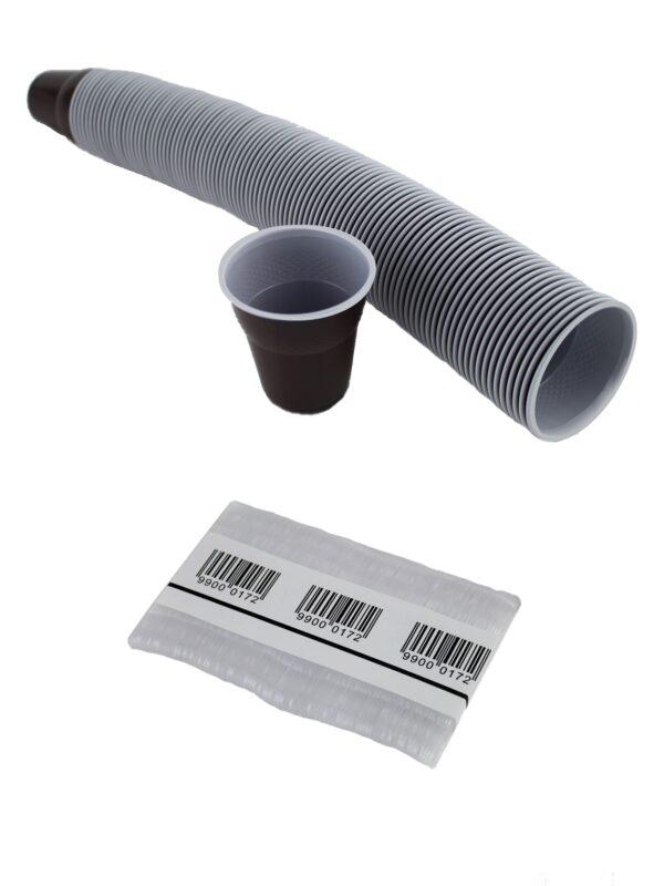 vasos plastico, tapas y paletinas plastico