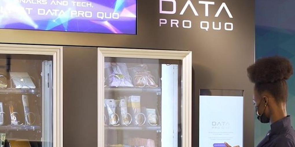 máquina expendedora pago datos